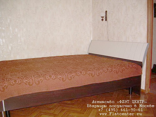Квартира посуточно на м.Ленинский пр-т,Пр-т 60-летия Октября.