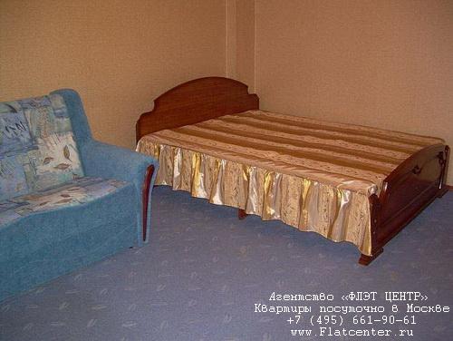 Квартира посуточно на м.Ленинский пр-т,ул.Орджоникидзе д.14.