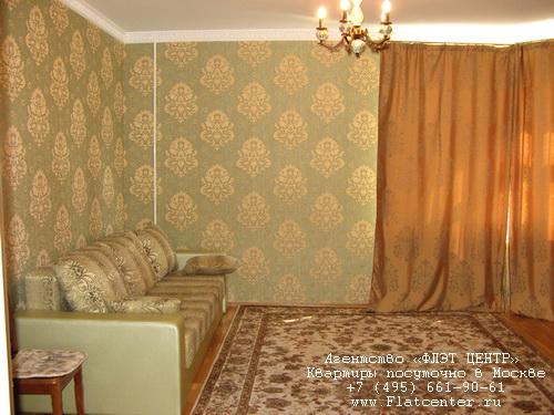 Квартира посуточно на м.Люблино,ул.Совхозная.