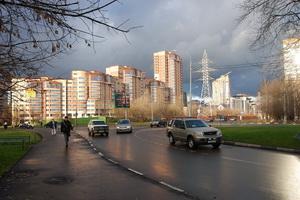 Фото района у м.Марьина Роща