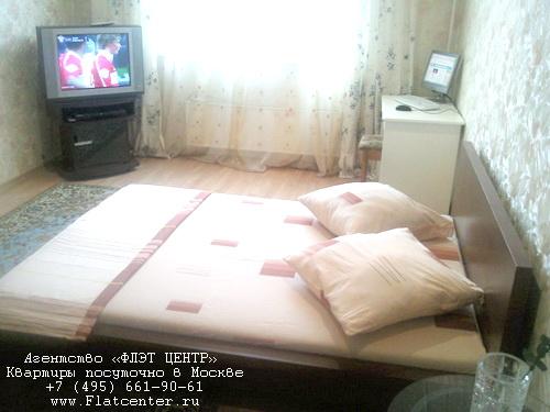 Квартира посуточно в Москве рядом м.Марьино.Гостиница на Новочеркасском б-ре
