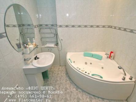 Джакузи в квартире посуточно у метро Маяковская в Москве. ул. 1-я Тверская-Ямская дом 13
