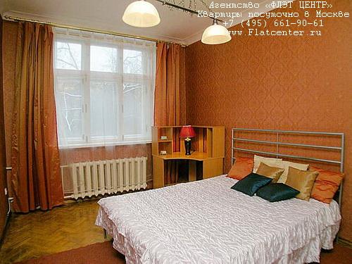Квартира посуточно на м.Маяковская,ул. Фадеева д.6 .
