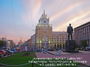 Фото квартиры с посуточной арендой на Маяковской и тверской-Ямской в Москве - Агентство ФЛЭТ ЦЕНТР