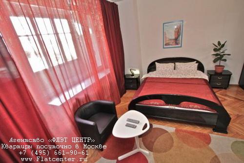Квартира посуточно на м.Маяковская,Садовая-Триумфальная д.18.