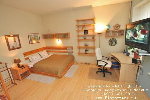 Квартира посуточно на м.Маяковская,Воротниковский пер д.7.