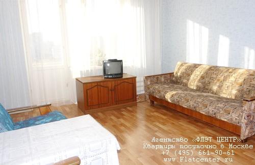 Квартира посуточно в Москве рядом м.Медведково,ул.Грекова д.8