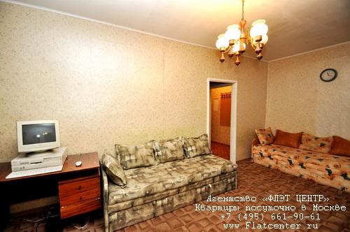 Квартира посуточно на м.Международная,Шелепихинская наб. 16.