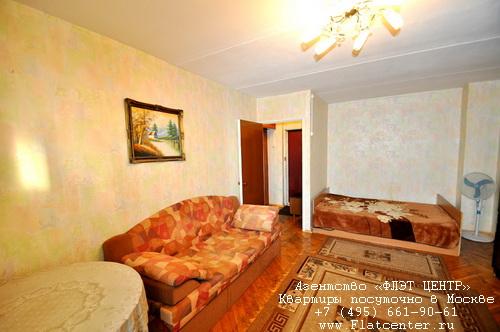 Квартира посуточно на м.Международная,Шмитовский пр. 24.