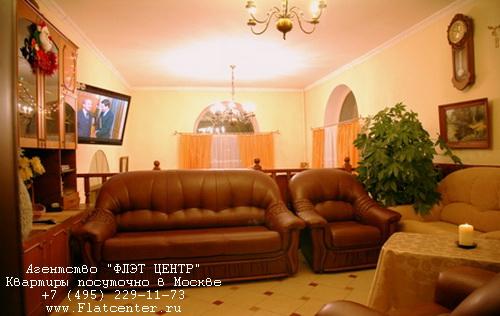Квартира посуточно на м.Митино, н/п Брехово.