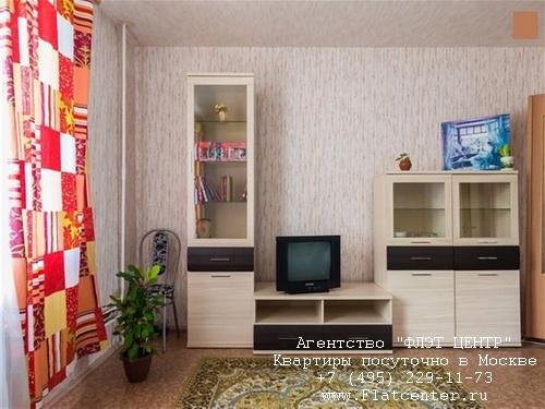 Квартира посуточно вблизи метро Молодёжная, Рублевское шоссе д.81
