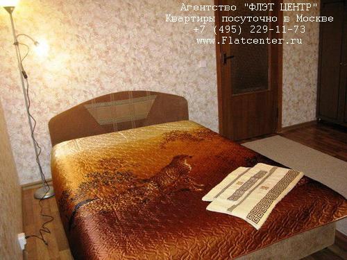 Квартира посуточно вблизи метро Молодёжная, ул.Рублёвское шоссе д.95