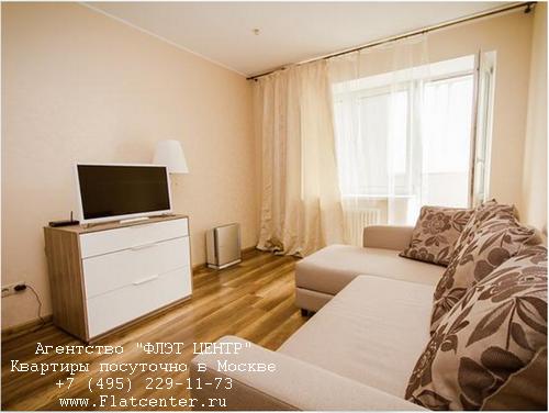 Квартира посуточно вблизи метро Молодёжная, Рублевское шоссе д.95 кор 1