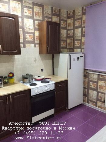 Квартира посуточно вблизи метро Молодёжная, ул.Ярцевская д.4