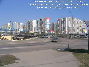 Посуточная аренда квартир на Рублёвском шоссе,в Крылатском и на Молодёжной