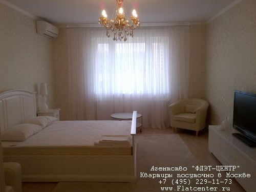 Квартира посуточно вблизи выставки «Крокус-Экспо»,Ильинский б-р д.9, вблизи от Крокус-Сити