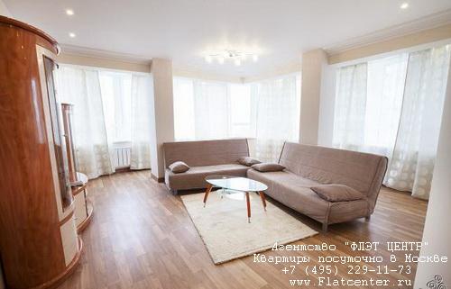 Квартира посуточно вблизи выставки «Крокус-Экспо», ул.Павшинская д.2