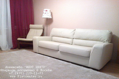 Квартира посуточно вблизи выставки «Крокус-Экспо», ул.Спасская  д.8
