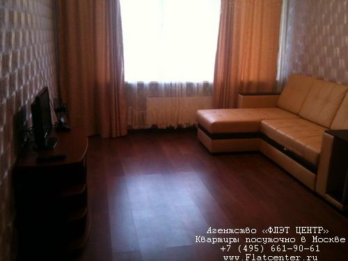 Квартира посуточно вблизи выставки «Крокус-Экспо»,ул. Спасская, д.10