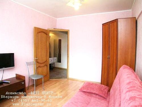 Квартира посуточно в Москве рядом м.Нагорная.Гостиница на площади Гагарина
