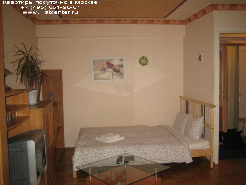 Квартира посуточно м.Полянка,в центре Москвы