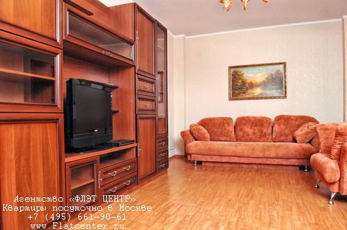 Квартира посуточно на м.Новослободская,ул. Чаянова д.16.