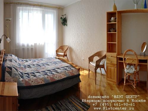 Квартира посуточно в Москве рядом м.Новые Черемушки.Гостиница на ул. Наметкина