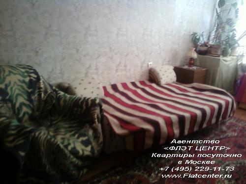 Квартира посуточно в Москве рядом м.Новые Черемушки,и на улице Цюрупы
