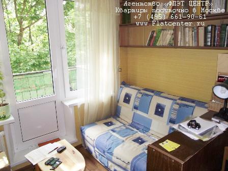 Квартира посуточно на м.Октябрьское Поле,ул. Маршала Рыбалко, д. 14.
