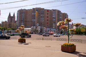 Фото района у м.Октябрьское Поле