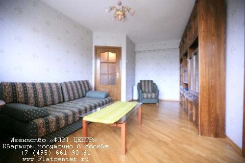 Квартира посуточно на м.Парк Культуры,Комсомольский пр-т д.9.
