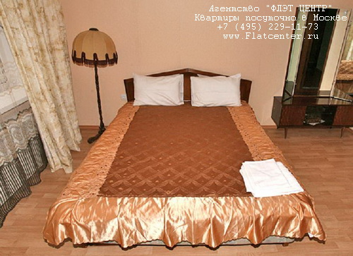 Квартира посуточно на м.Парк Культуры,Пуговишников пер.д.8.