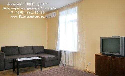 Квартира посуточно на м.Павелецкая,Дербеневская д.1.