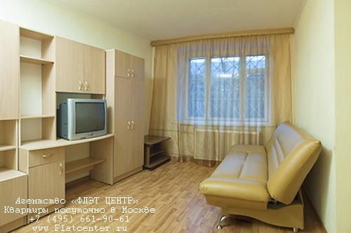 Квартира посуточно на м.Павелецкая,ул.Дубининская 11\17.