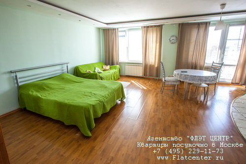 Квартира посуточно в Москве м.Третьяковская, Монетчековский пер. д.18
