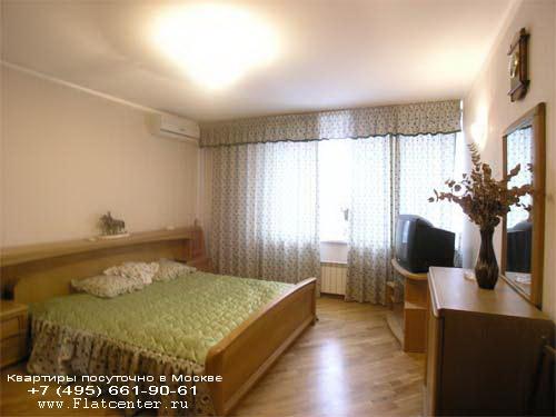 Квартира посуточно на м.Павелецкая,Б. Пионерская ул., д.28.Квартира на ночь недалеко от Павелецкого вокзала