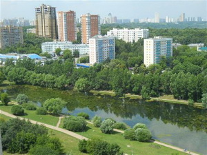 Фото района у метро Пионерская