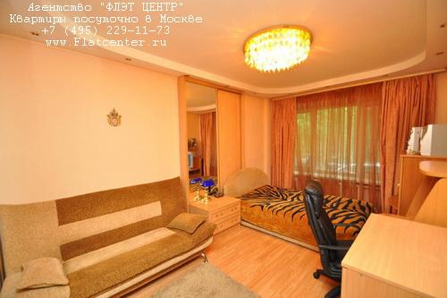 Квартира посуточно на м.Полежаевская,Хорошевское шоссе д.43.