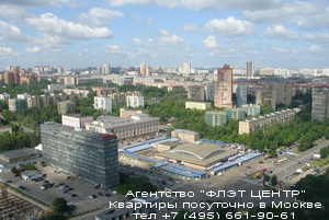 Агентство ФЛЭТ ЦЕНТР - аренда квартир посуточно у м.Профсоюзная
