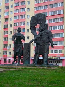 Фото района у м.Пролетарская