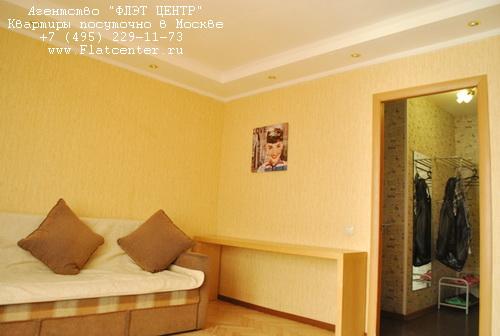 Квартира краткосрочно на м.Проспект Мира,ул.Гиляровского д.45.