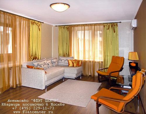 Квартира посуточно на м.Проспект Мира,ул.Гиляровского д.36.