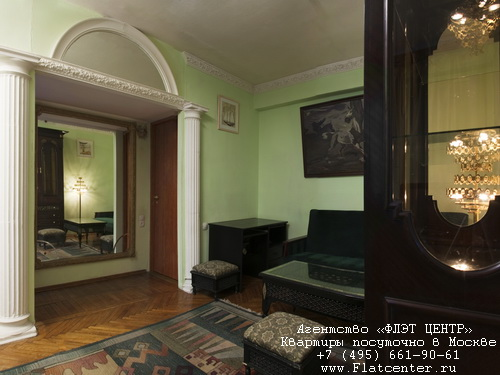 Квартира посуточно в Москве рядом метро Чистые Пруды,Грохольский пер д.10