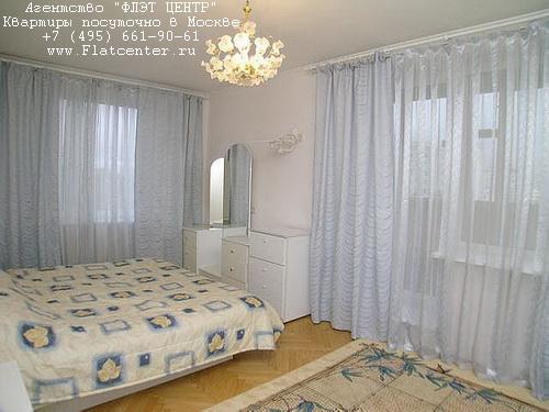 Квартира посуточно в Москве рядом метро Чистые Пруды,Б.Переяславская д.15