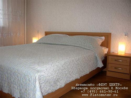 Квартира посуточно на м.Проспект Вернадского,ул.Академика Пилюгина, д. 26.