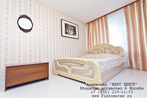 Однокомнатная квартира посуточно м.Пр-т Вернадского, ул.Лобачевского д.96