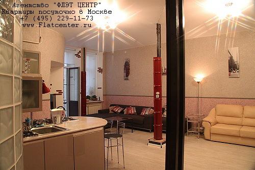 Квартира посуточно на м.Пушкинская,ул.М. Козихинский пер. д.12.