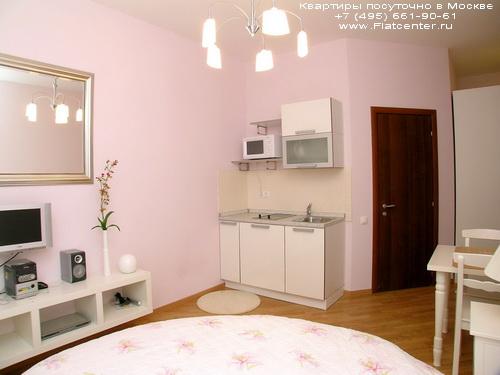 Квартира посуточно на м.Пушкинская,Малая Бронная д.12.Гостиницы на ночь на Тверском бульваре