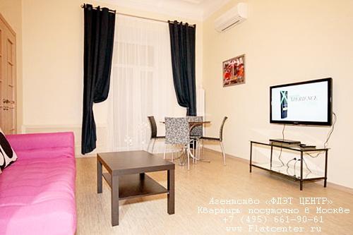 Квартира посуточно в Москве м.Тверская,Б.Бронная ул
