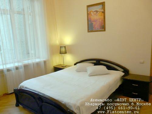Квартира посуточно на м.Пушкинская,ул. Тверская д.6С3.